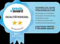 Praxis+Award Qualitätssiegel